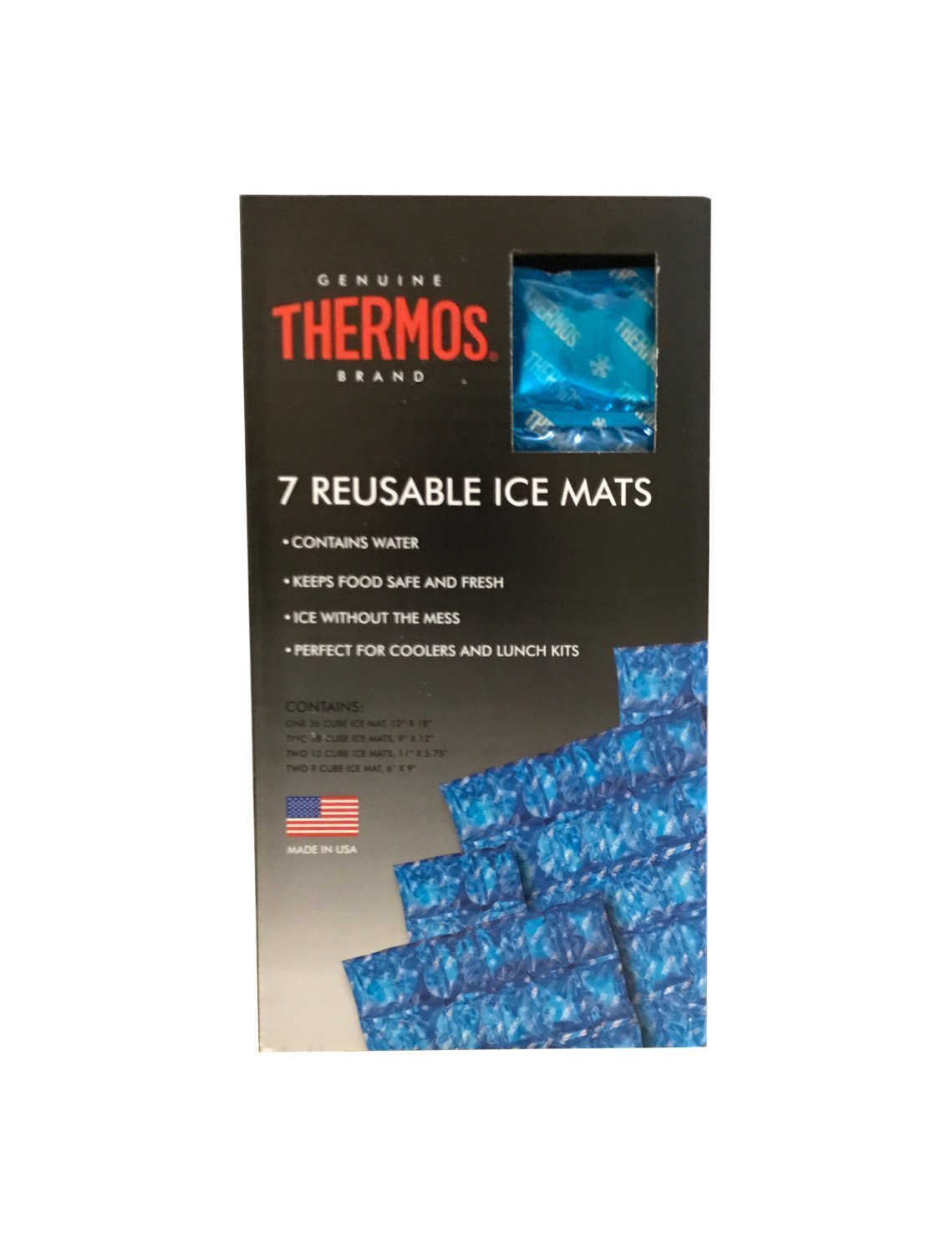 Thermos 7 Reusable Ice Mats