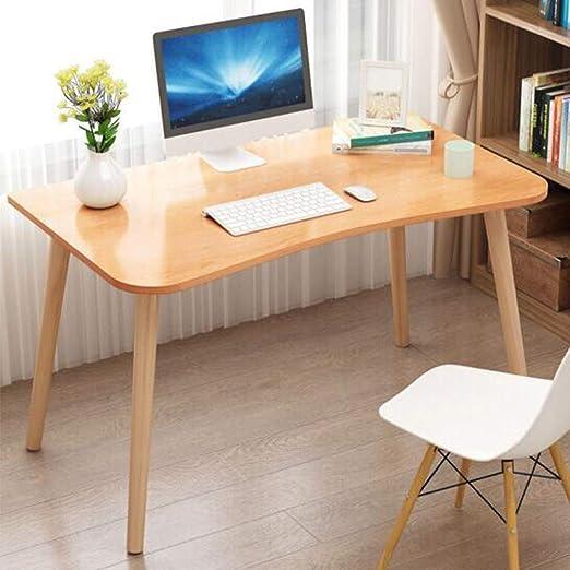 Escritorio de madera de haya para sala de estar, escritorio de ...