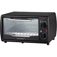 Vetronix VOTG-3201 10 L Oven Toaster Griller with Free Glove and Recipe Book (Black)