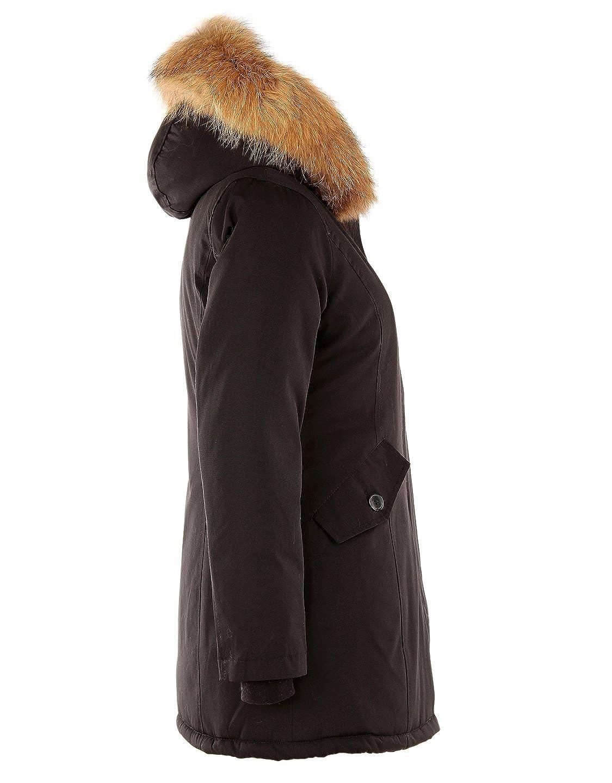 Few24 Modische Echtfell Winterjacke Mit einer mega coolen XXL Kapuze   Amazon.de  Bekleidung b8f7d3c749
