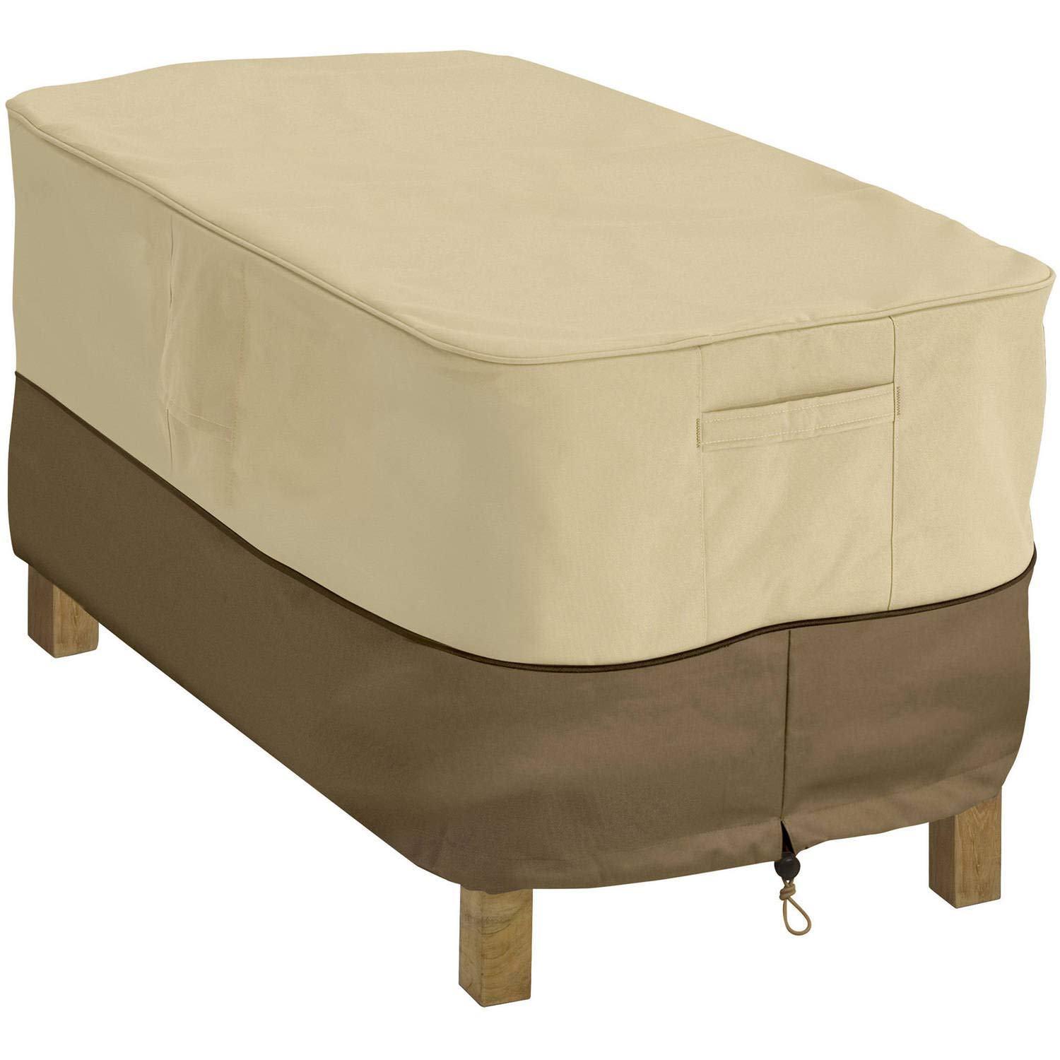 Rectangular Coffee Table Cover, Fits Tables 48''L x 25''W Rectangular Coffee Table Cover, Fits Tables 48''L x 25''W