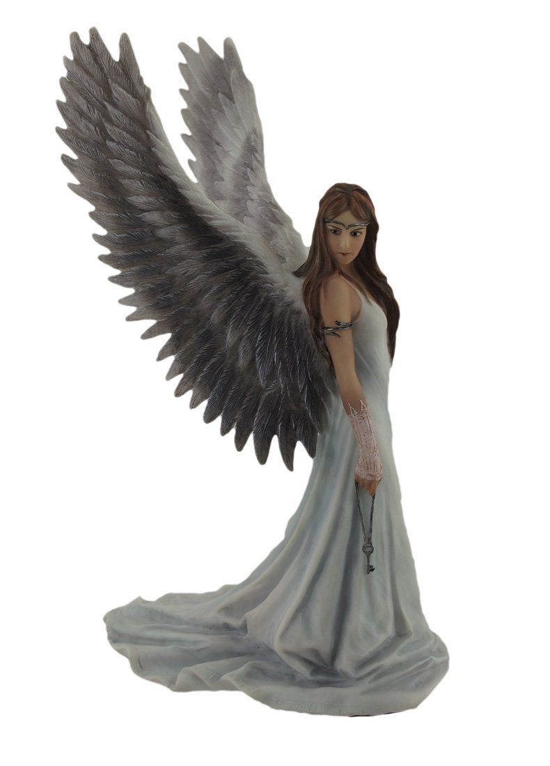 Veronese Design Anne Stokes Spirit Guide Angel Statue 9 1 2 in.