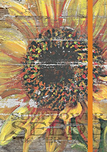 Lang  Sunflower Classic Journal by Lori Siebert, 6 x 8 inches, 192 Ruled Pages (1009526)