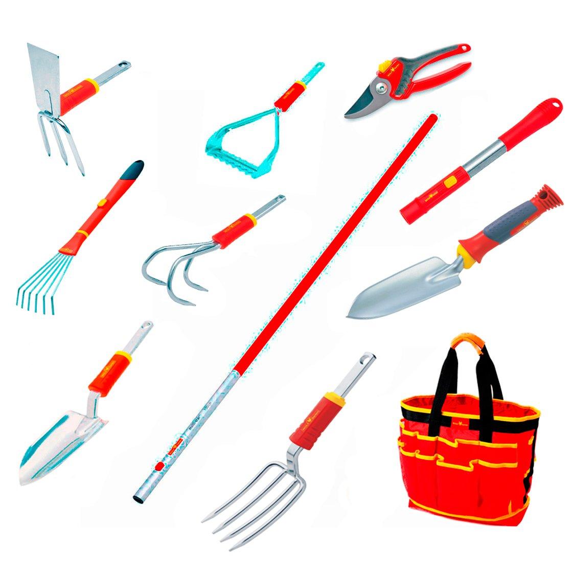 WOLF-Garten Flower Garden Tool Kit - 12 piece tool set - KIT3733790 by Wolf-Garten