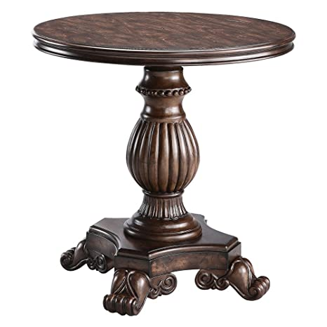 Amazon.com: Stein Ronda Mundial Pedestal Reclaimed – Mesa ...