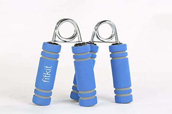 Buy Fitkit FK97002 Foam Hand Grip Pair (Blue) Online at Low Prices in India - Amazon.in