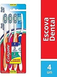 Escova Dental Colgate Tripla Ação 4unid Promo c/ Desconto