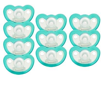 jollypop Preemie Chupete 10 Pack Sin Perfume, color azul ...