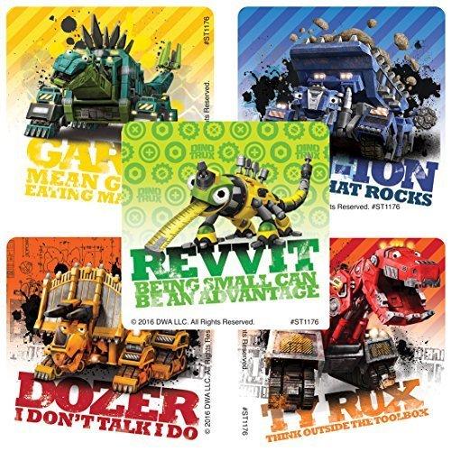 Dinotrux Stickers