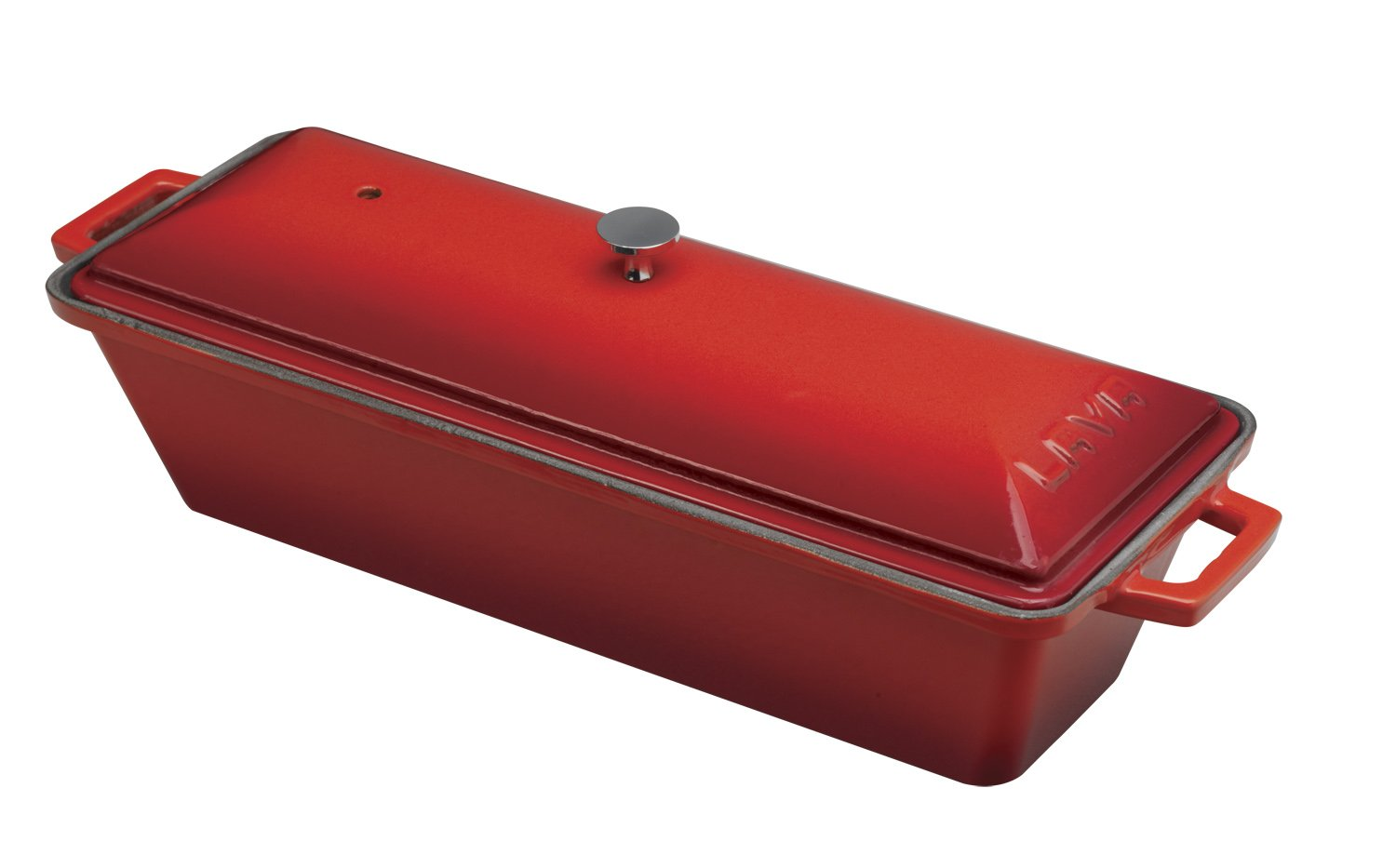 Lava Enameled cast-iron Bread /テリーヌパン、3 by 10-inch 3 x 10 inch レッド LVPEK826RED B00DNGSDRK カイエン レッド カイエン レッド