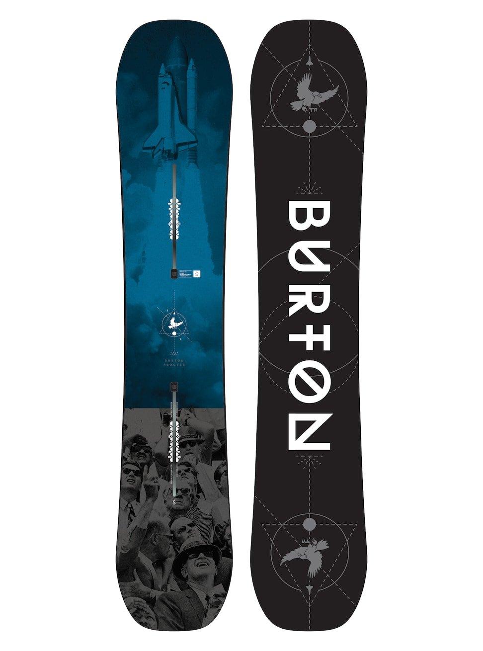 Burton(バートン) スノーボード 板 メンズ PROCESS 152~162 2017-18モデル 106921 スノボ キャンバー B072P2HPYT 155