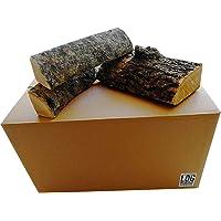 54litre Boîte de séché au four en frêne Logs-25cm Longueur, Meilleur Bois de chauffage journaux, d'une durée de combustion–Parfait pour la cuisson de la viande, feux de camp, ouverts et cheminées