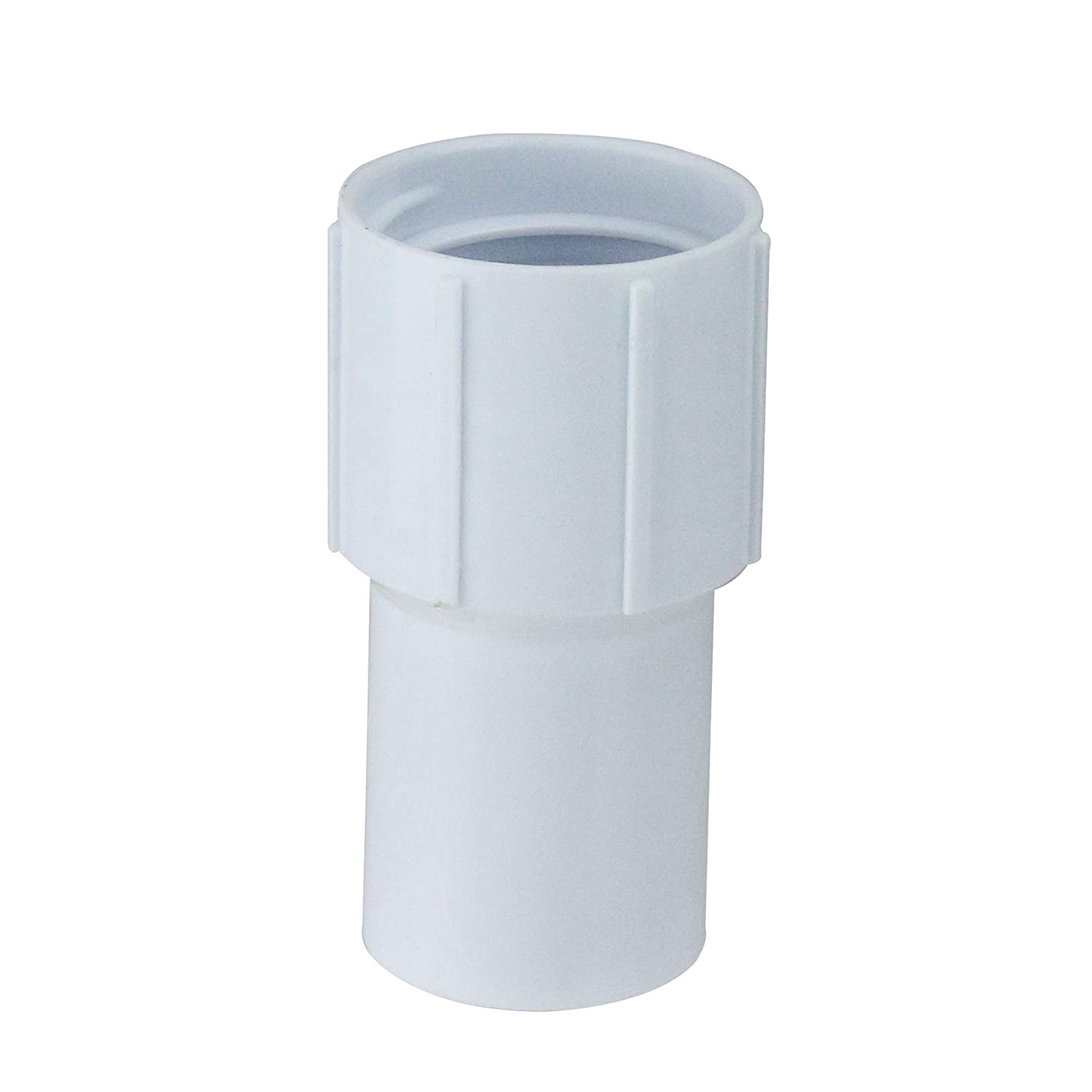 """3.5"""" White Cuff for Swimming Pool or Spa 1.25"""" Vacuum Hose"""