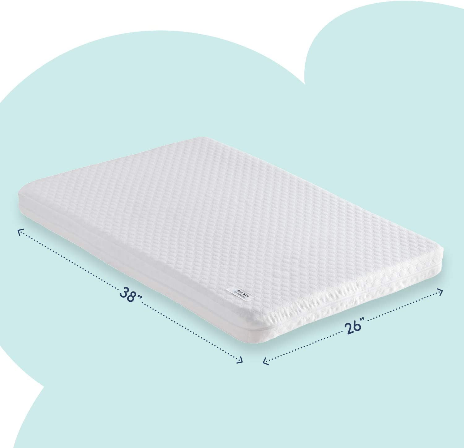 Hiccapop Memory Foam Pack and Play Mattress Pad