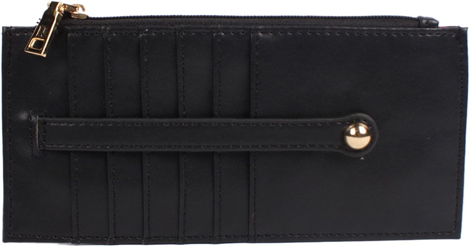 Wallet With Exposed Card Slot