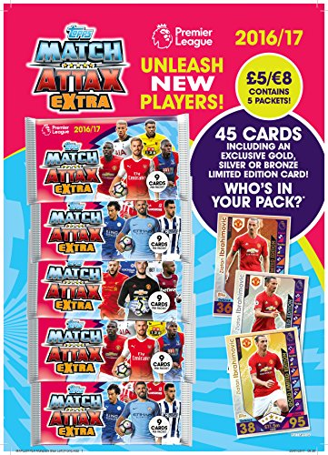 2016-17-topps-match-attax-premier-league-extra-multi-pack-45-cards-limited-edition-zlatan-ibrahimovi