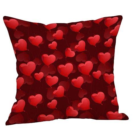 surce - Funda de cojín Cuadrada para el día de San Valentín ...
