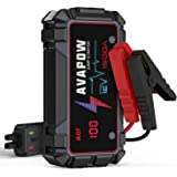 A V A P O W Jump Starter 1500A Peak Current Jumper Cables Kit for Car(Upto 12V 7L Gas/5.5L Diesel Engine) with USB Quick Char