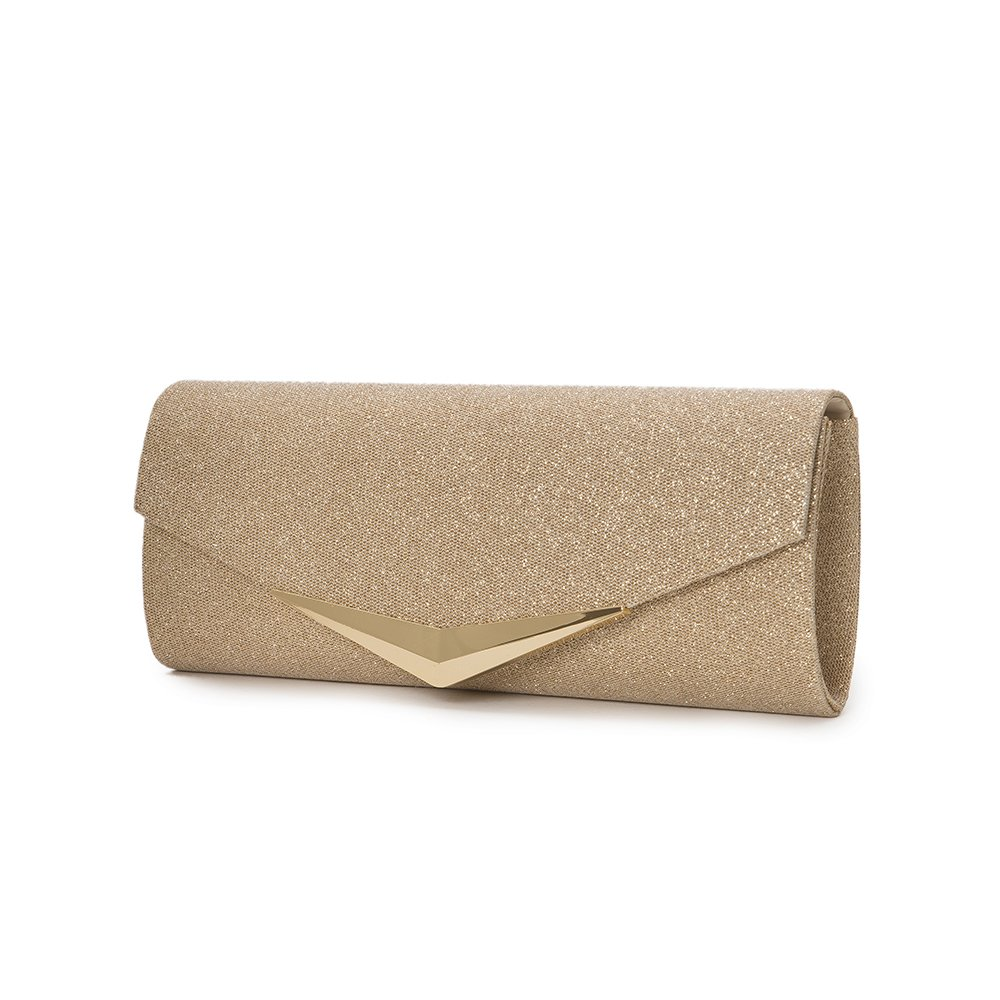 XINDI Evening Bags PU bags party Clutch Women Messenger Bags champagne purse handbags for dinner