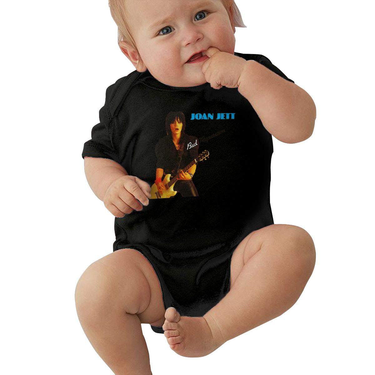 SusanHuling Joan Jett Unisex Baby Boys Girls Romper Bodysuit Infant Funny Jumpsuit