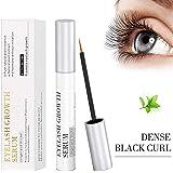 Eyelash Growth Serum,Lash Growth Serum for Eyelash and Eyebrow,Eyelash Growth Enhancer,Eyelash Growth Liquid,Rapid Growth,Give You Thicker&Longer Natural Eyelashes