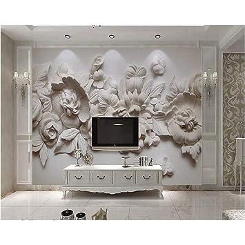 ZHENSI Fonds Du0027Écran 3D Papier Peint En Trois Dimensions Belle Peinture À Lu0027