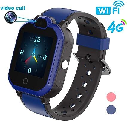 Amazon.com: HuaWise 4G Kids Smartwatch/Kids GPS Waterproof ...