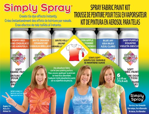 Deval Products Tie-dye Party Kit