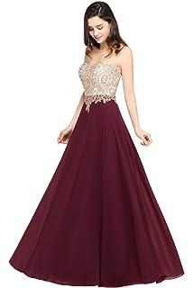 Amazon.com: Vestido de lentejuelas Kate Kasin para dama, sin ...