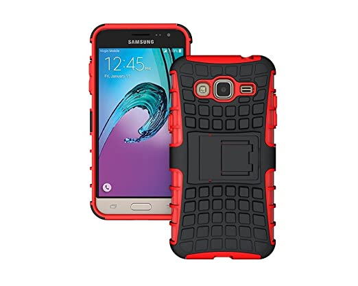 13 opinioni per KATUMO®Rosso Samsung J3 ( Versione 2016 ) Cover, TPU Case Silicone Morbida