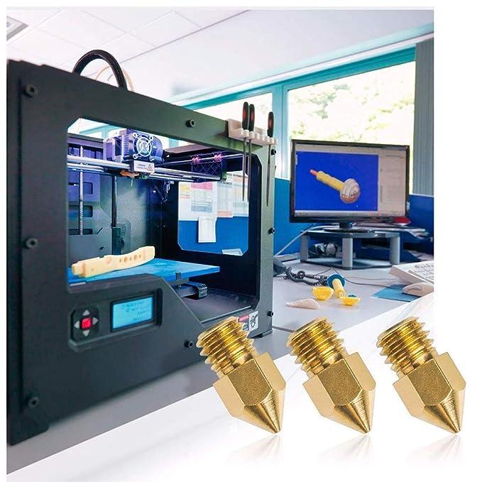 TwoCC-Impresora 3D, 20 piezas Mk8 0.4mm Impresora 3D Accesorios de ...