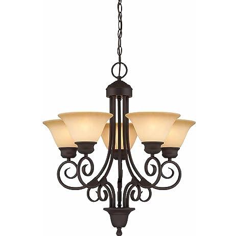 Amazon.com: Volumen de Luz Iluminación V2365 79 – 5 Troy ...