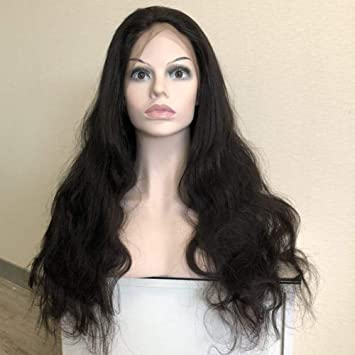 8930e8eafc8 Forawme 13X6 Deep Space Lace 30 Inch Remy Virgin Brazillian Body Wave Lace  Front Wigs Human...