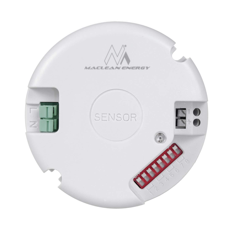 Sensor de movimiento por microondas, sensor crepuscular ...