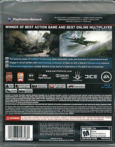 EA 19728 Battlefield 3 for Playstation 3