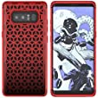 Galaxy Note 8 Case, UrSpeedtekLive Shockproof Slim Corner Protection with Resilient Shock Absorption Rubber Protective Case Cover for Samsung Galaxy Note8 (2017) 6.3 Inch, Red And Black