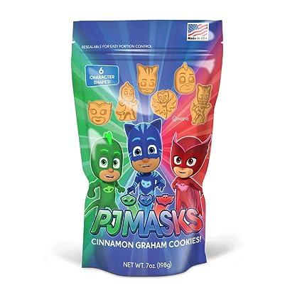 PJ Masks Cinnamon Graham Cookies: Amazon.com: Grocery ...