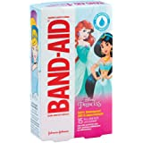 Band-Aid® Disney Princess Waterproof Bandages - First Aid Kit Supplies - 15 per Pack