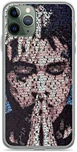 Compatible with iPhone 11 Case Xxxtentacion Urban Art American Rapper Pure Clear Phone Cases Cover