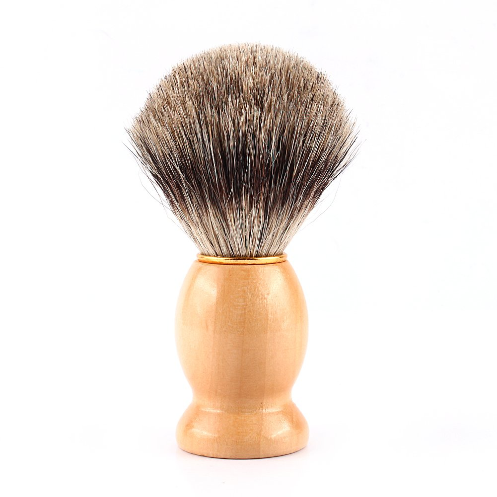 Badger Shaving Brush-Engineered for the Best Shave of Your Life. For, Safety Razor, Double Edge Razor, Straight Razor or Shaving Razor, Shaving Brush Razor stand Included Yotown
