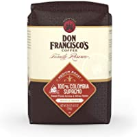 Don Francisco's, 100 Medium Roast Coffee oz. bag, Colombia Supremo Whole Bean, 28 Ounce