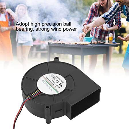 Ventilador de aire de barbacoa de repuesto 21.6W Ventilador de aire de barbacoa para picnic Accesorios de cocina al aire libre Camping Herramientas de cocina al aire libre: Amazon.es: Hogar