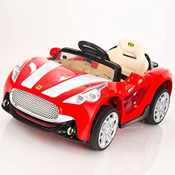 maserati style 12v kids ride on car electric power wheels remote control red