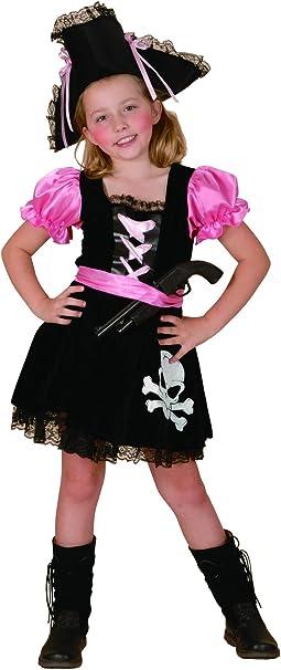 Vegaoo - Disfraz Pirata niña - L 10-12 años (130-140 cm): Amazon ...