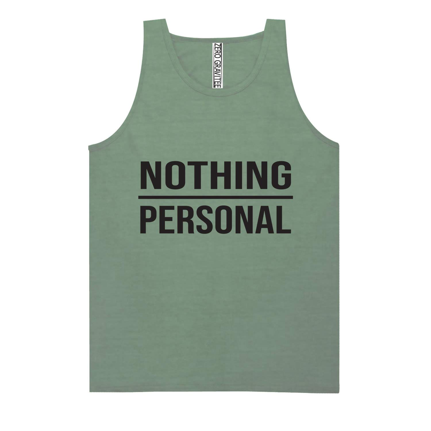 Nothing Personal Adult Pigment Dye Tank Top