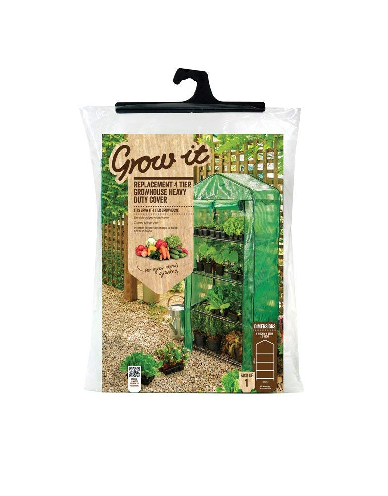 49x69x160 cm 3 x 4 Tier Growhouse Reinforced Replacement Cover