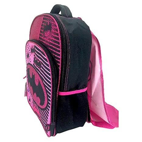 DC Comics Batgirl Backpack with Detachable Cape (Superhero Girls School  Supplies) a015c32487