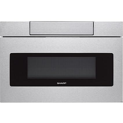 Sharp Smdas Microwave Drawer Oven   Cu Feet Stainless Steel