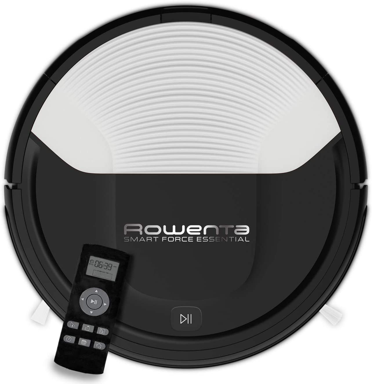 Rowenta RR6927WH Smart Force - Robot aspirador, con sensores anticaída y bateria de ión-litio, 150 minutos de autonomía apto para todo tipo de suelos, fácil limpieza y vaciado, interfaz intuitiva: Amazon.es: Hogar