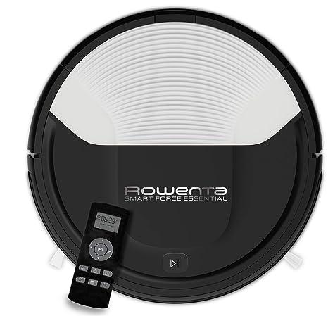Rowenta RR6927WH Smart Force - Robot aspirador, con sensores anticaída y bateria de ión-litio, 150 minutos de autonomía apto para todo tipo de suelos, ...